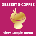 Desserts and Coffees - Download Menu in PDF Format